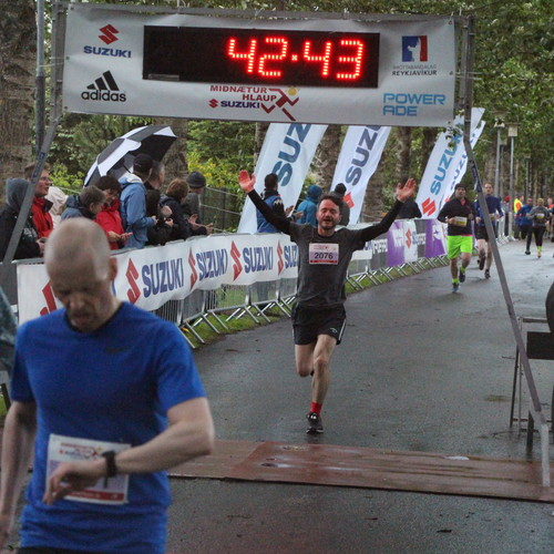 Start and finish in Laugardalur