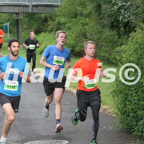Photos of runners at hlaup.is